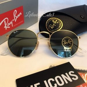 💯Ray-ban Round metal classic g15 NEW